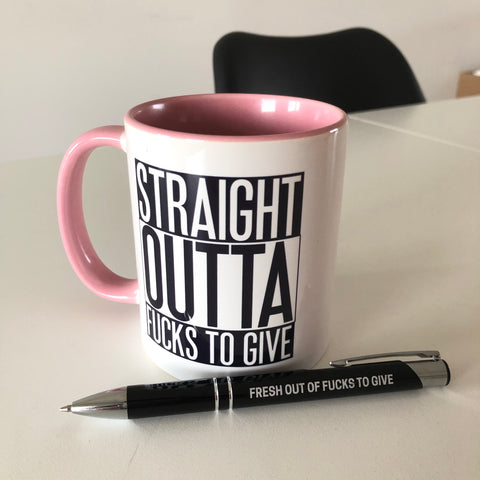 Ultimate Straight Outta Fucks Office Pack