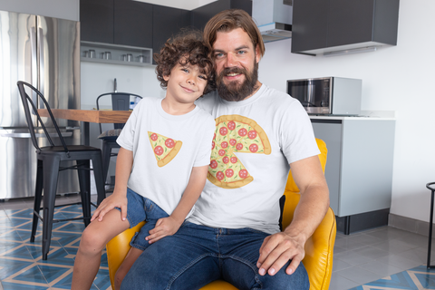 Image of YOU'RE A LITTLE PIZZA ME T-shirt Combo