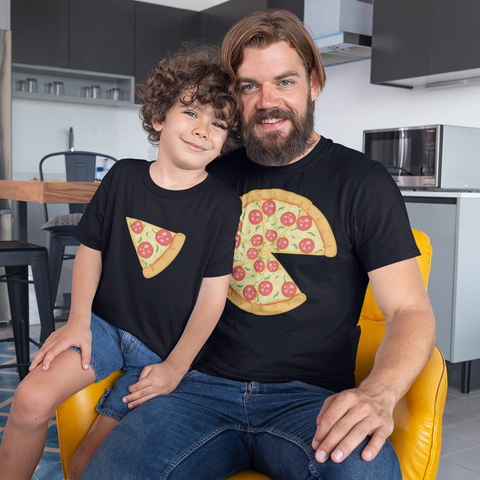 YOU'RE A LITTLE PIZZA ME T-shirt Combo