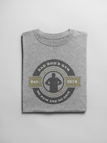 Image of NEW Dad Bod's Gym T-shirt