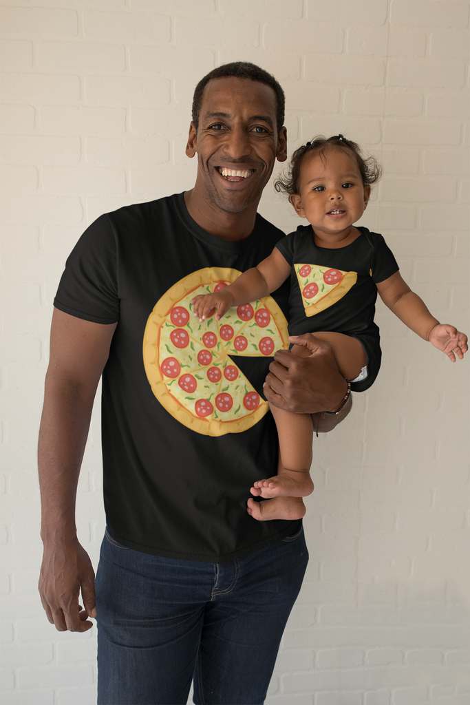 YOU'RE A LITTLE PIZZA ME T-shirt & Onesie Combo