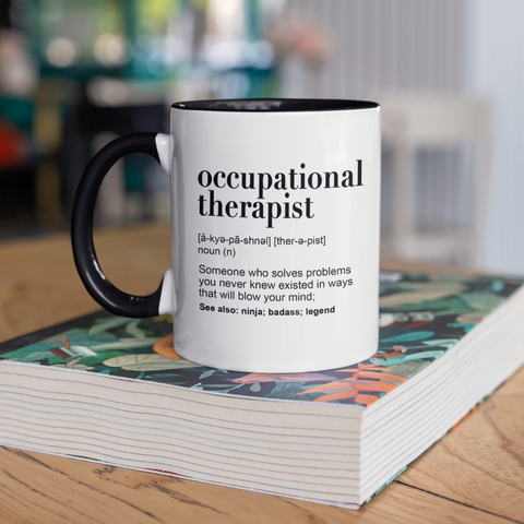 Image of Occupational Therapist Dictionary Mug
