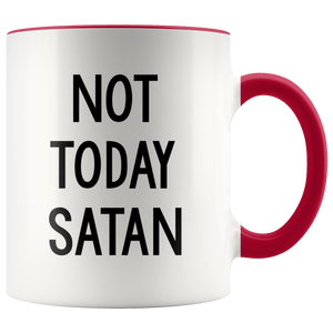Not Today Satan Mug-Drinkware-Far Kew Emporium