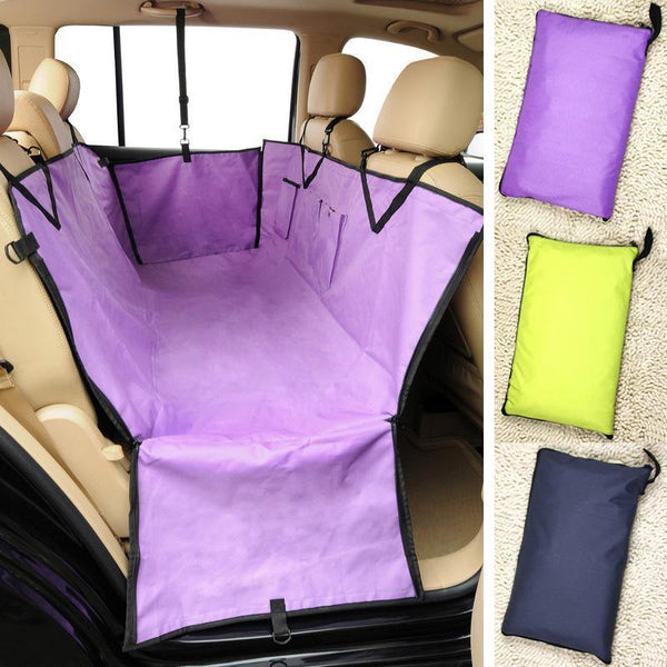 Pet Puppy Dog Cat Car Back Seat Travel Cover Waterproof Hammock