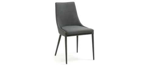Dant chair - dark grey fabric,