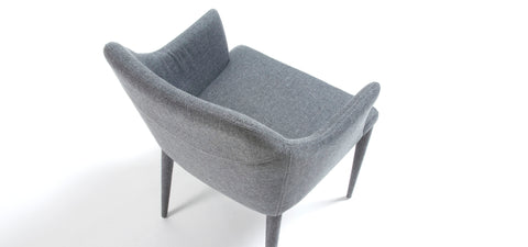 Simone chair - light grey fabric