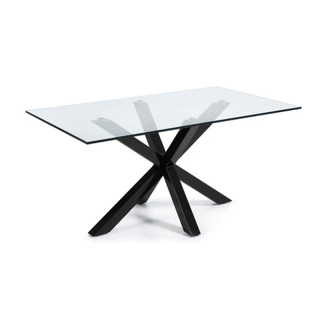 Ryan Table - Epoxy Black Legs