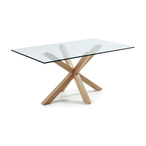 Ryan Table - Havoma Veneer / Metal Legs