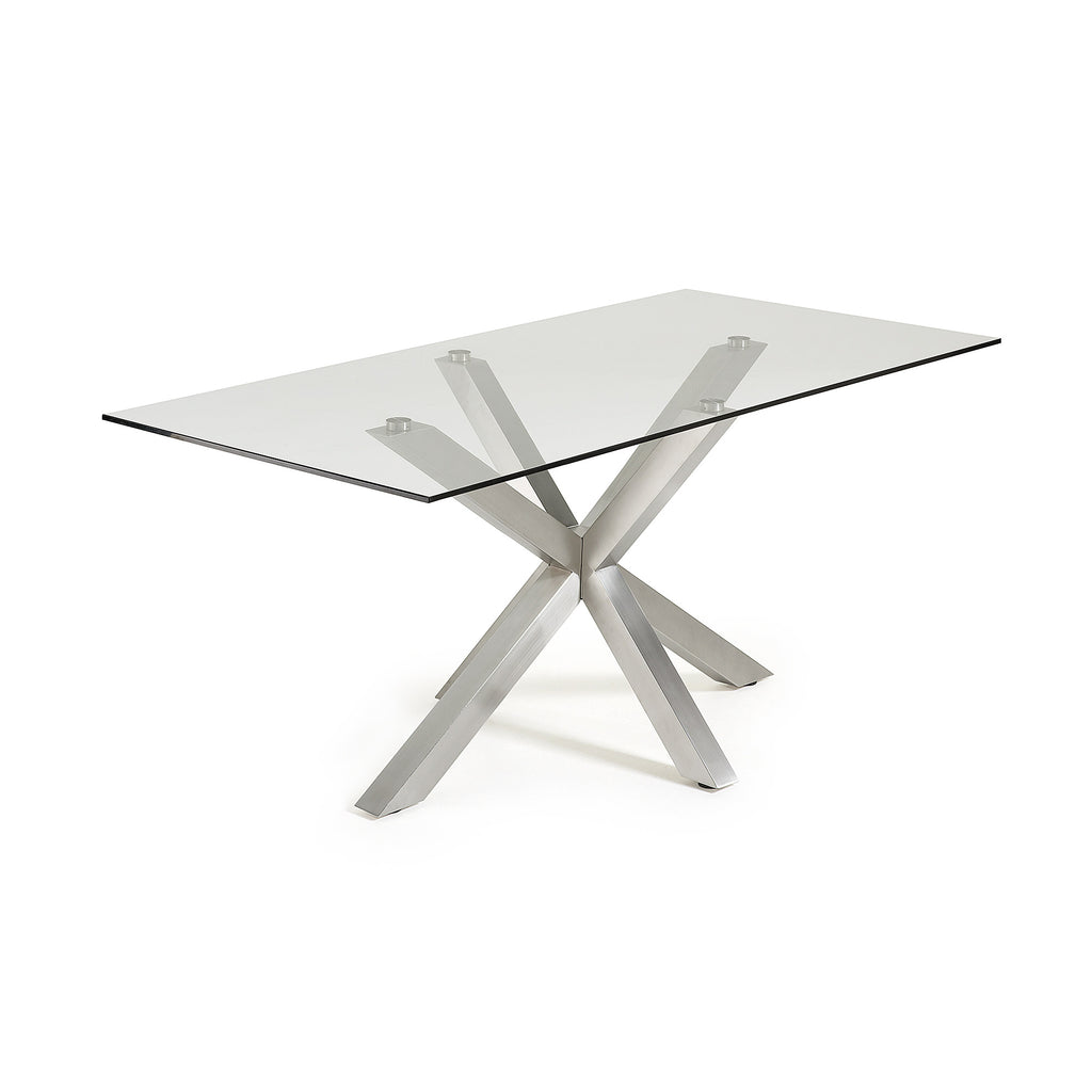 Ryan Table - Stainless Steel Legs