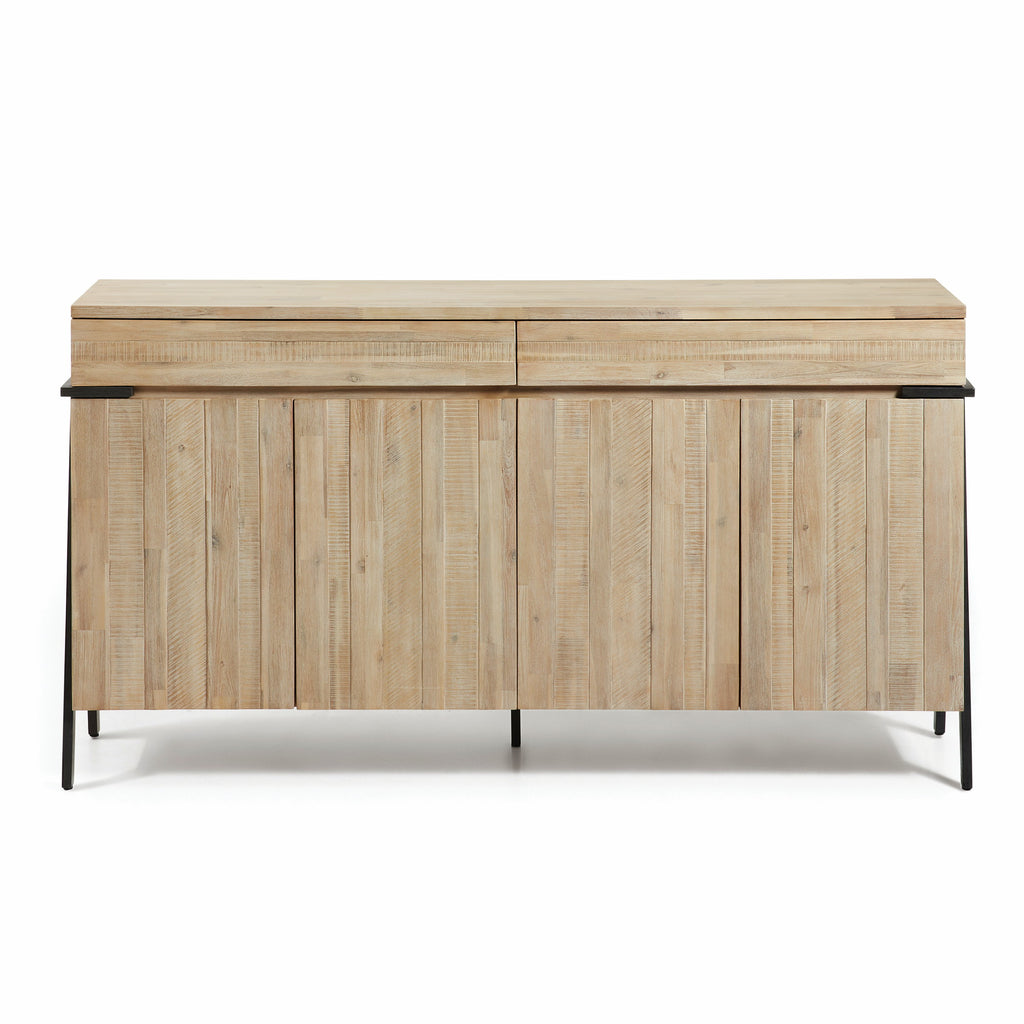 KonicSideboard 184X45 - 4Door 2Drawer - Acacia,