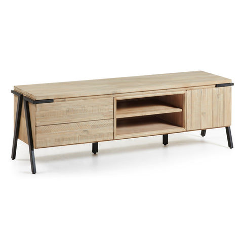 KonicTv Table 165X45 - 1Door 2Drawer - Acacia