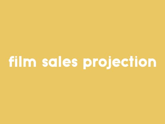 Rapid Movie Sales Projection Creation