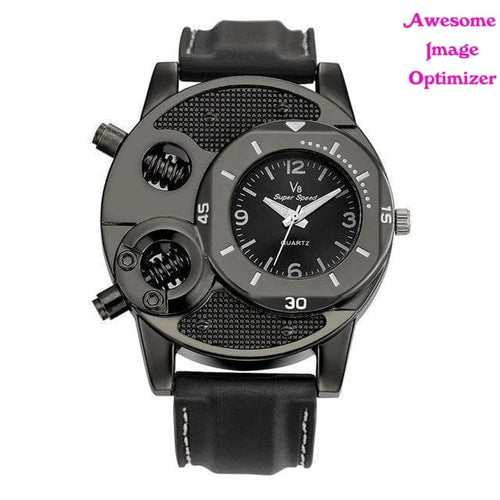 1PCS Fashion Men's Thin Silica Gel Students Sports Quartz Watch