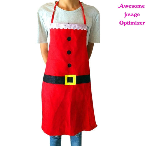 Creative Christmas Apron