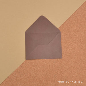Plain Envelopes (5s) – Chocolate