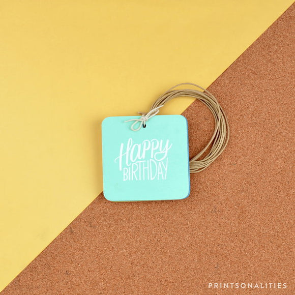 Merry Gift Tags (30s) – Happy Birthday
