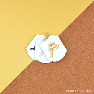 Gilded Gift Tags (24s) – For You