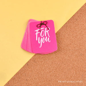 Merry Gift Tags (30s) – For You – Fuchsia