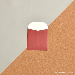 Mini Money Envelope – Marsala
