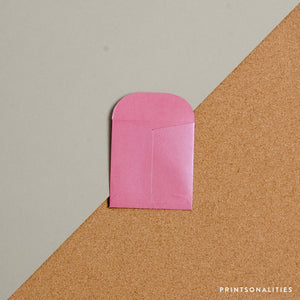 Mini Money Envelope – Metallic Pink