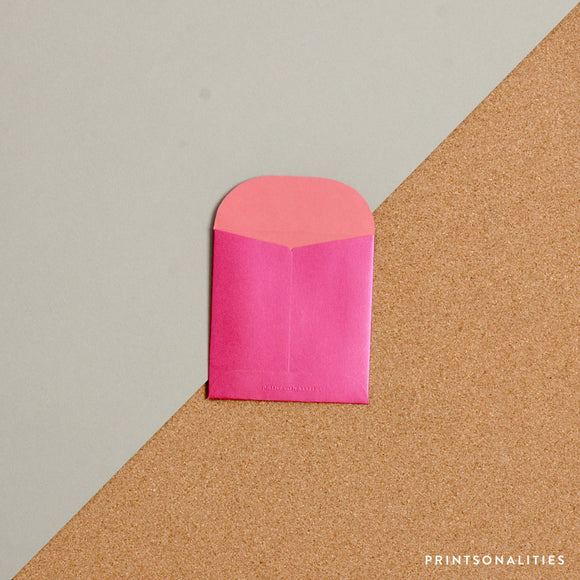 Mini Money Envelope – Silky Fuchsia