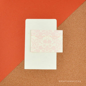 Fold & Seal (8s) – Pink Lace