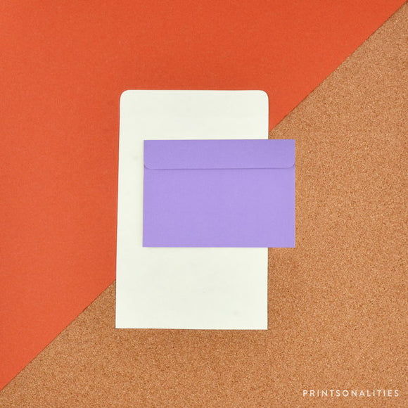 Fold & Seal (8s) – Solid Lilac