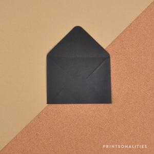Plain Envelopes (5s) – Black