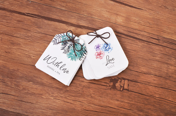 Die-Cut Gift Tags