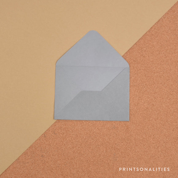 Plain Envelopes (5s) – Gray
