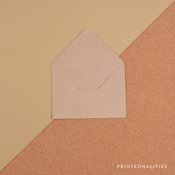 Plain Envelopes (5s) – Kraft