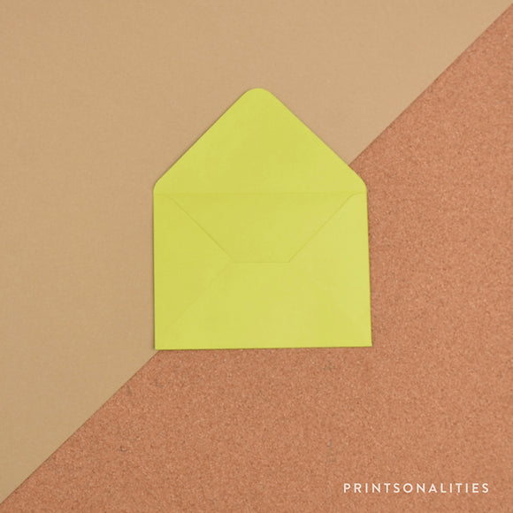 Plain Envelopes (5s) – Lime