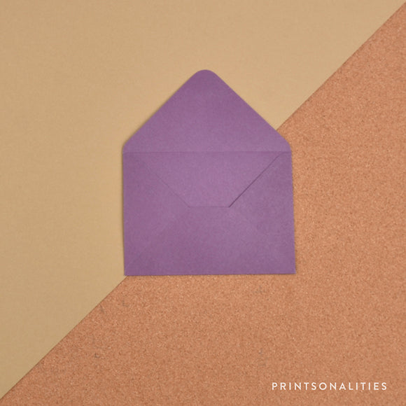 Plain Envelopes (5s) – Purple