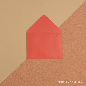 Plain Envelopes (5s) – Red