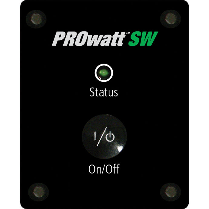 PROwatt SW Inverter Remote with Ignition Interlock Feature