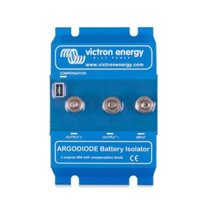 Victron Energy Argodiode 80-2AC 2 batteries 80A