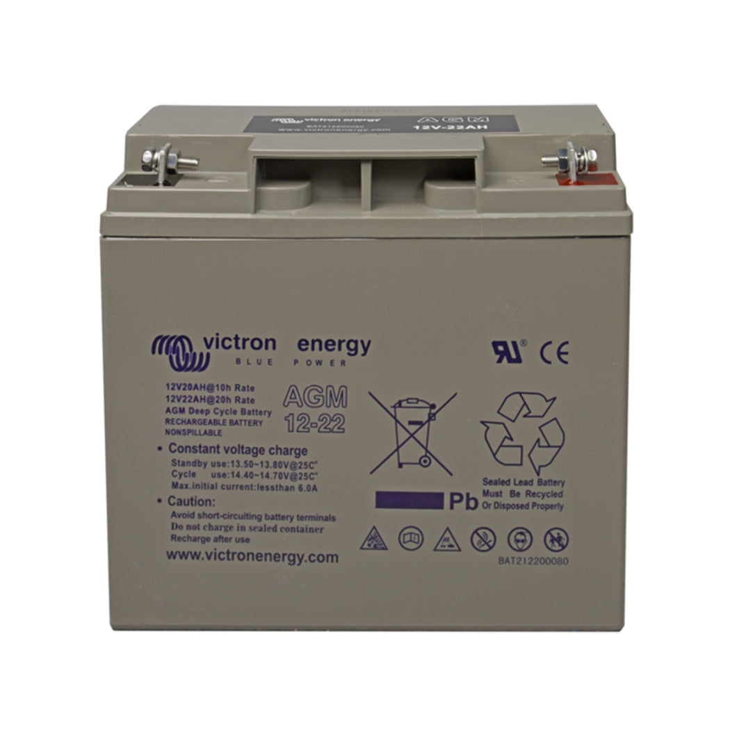 12V/22Ah AGM Deep Cycle Battery