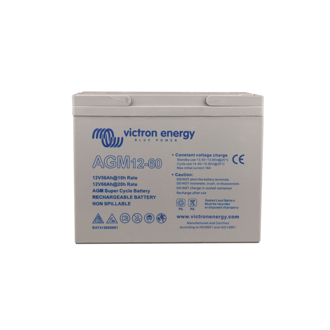 12/60Ah AGM Super Cycle Battery