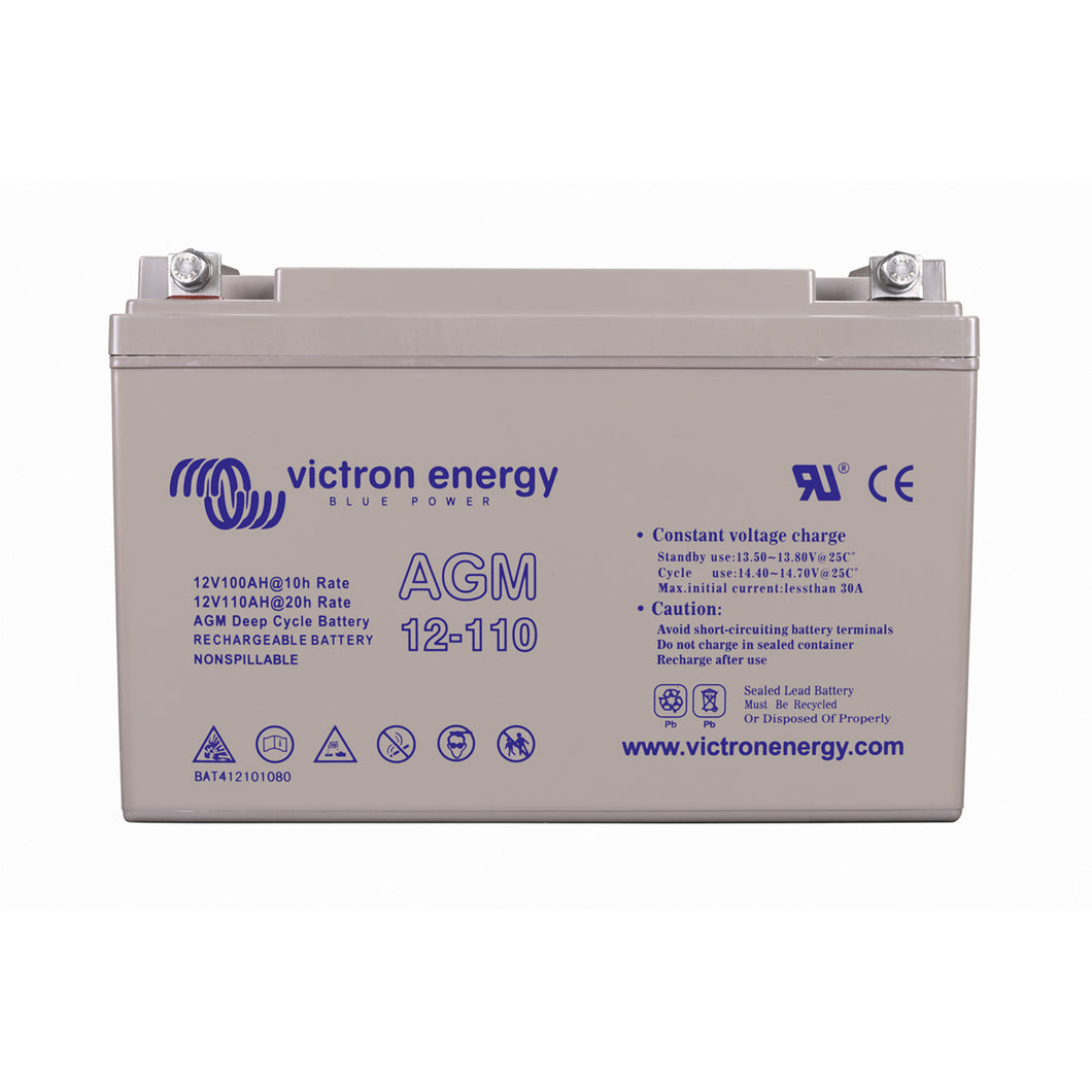 12V/110Ah AGM Deep Cycle Battery