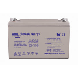 Victron Energy 12V/110Ah AGM Deep Cycle Battery (M8)
