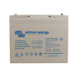 12V/100Ah AGM Super Cycle Battery (M6)