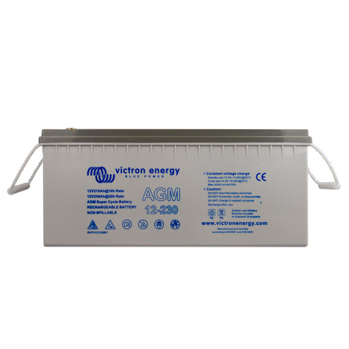 12V/230Ah AGM Super Cycle Battery (M8)