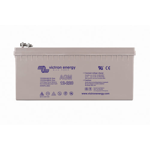 12V/220Ah AGM Deep Cycle Battery