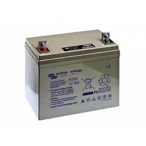 Victron Energy 12V/66Ah AGM Deep Cycle Battery