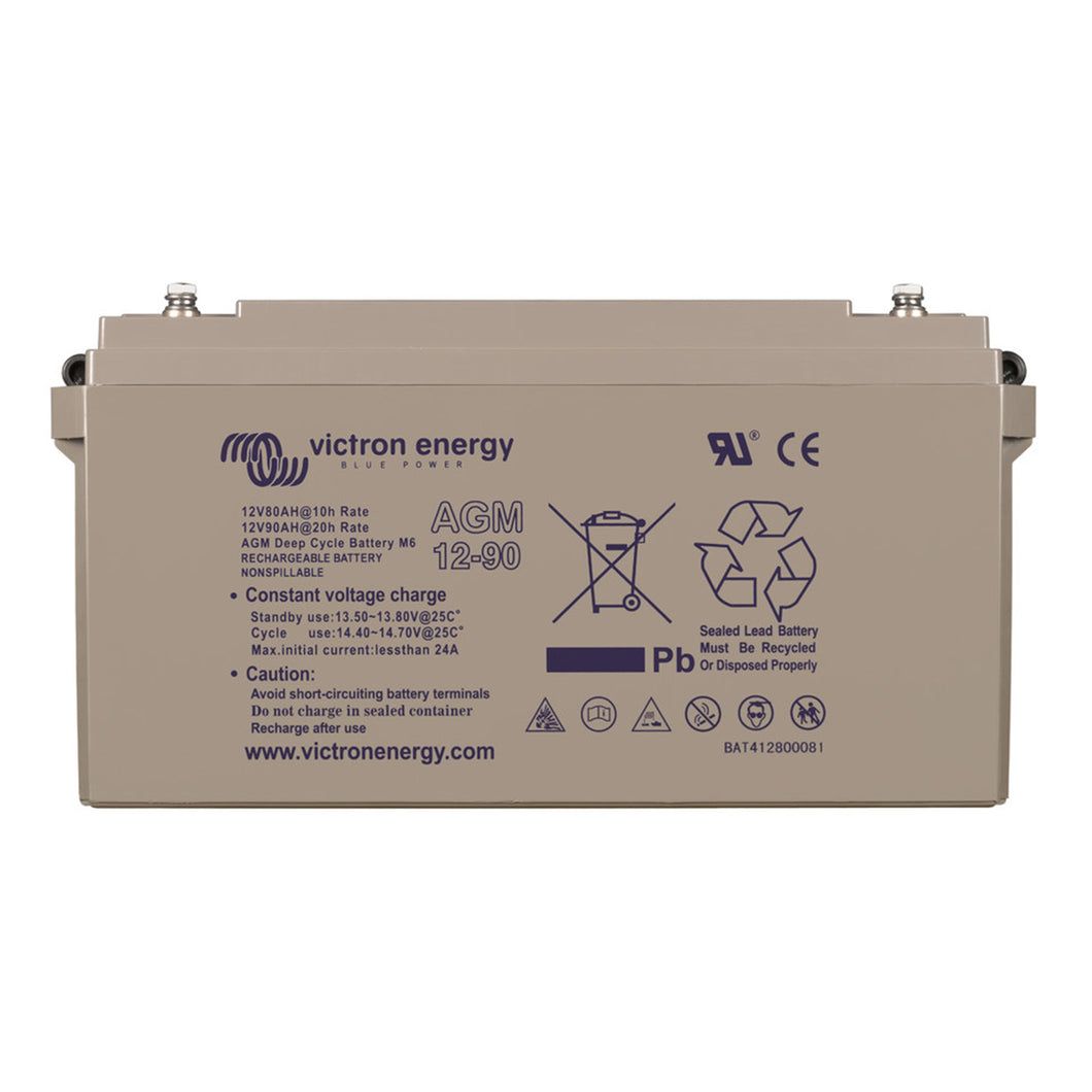 12V/90Ah AGM Deep Cycle Battery
