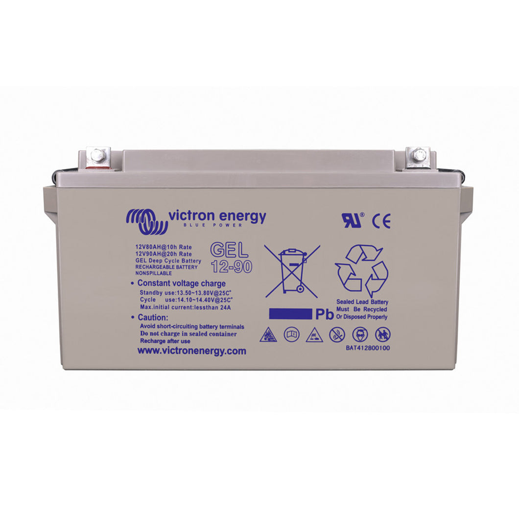12V/90Ah Gel Deep Cycle Battery