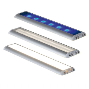 BrightLine Flat Dual LED Lamp 345mm 54xLED 12/24V