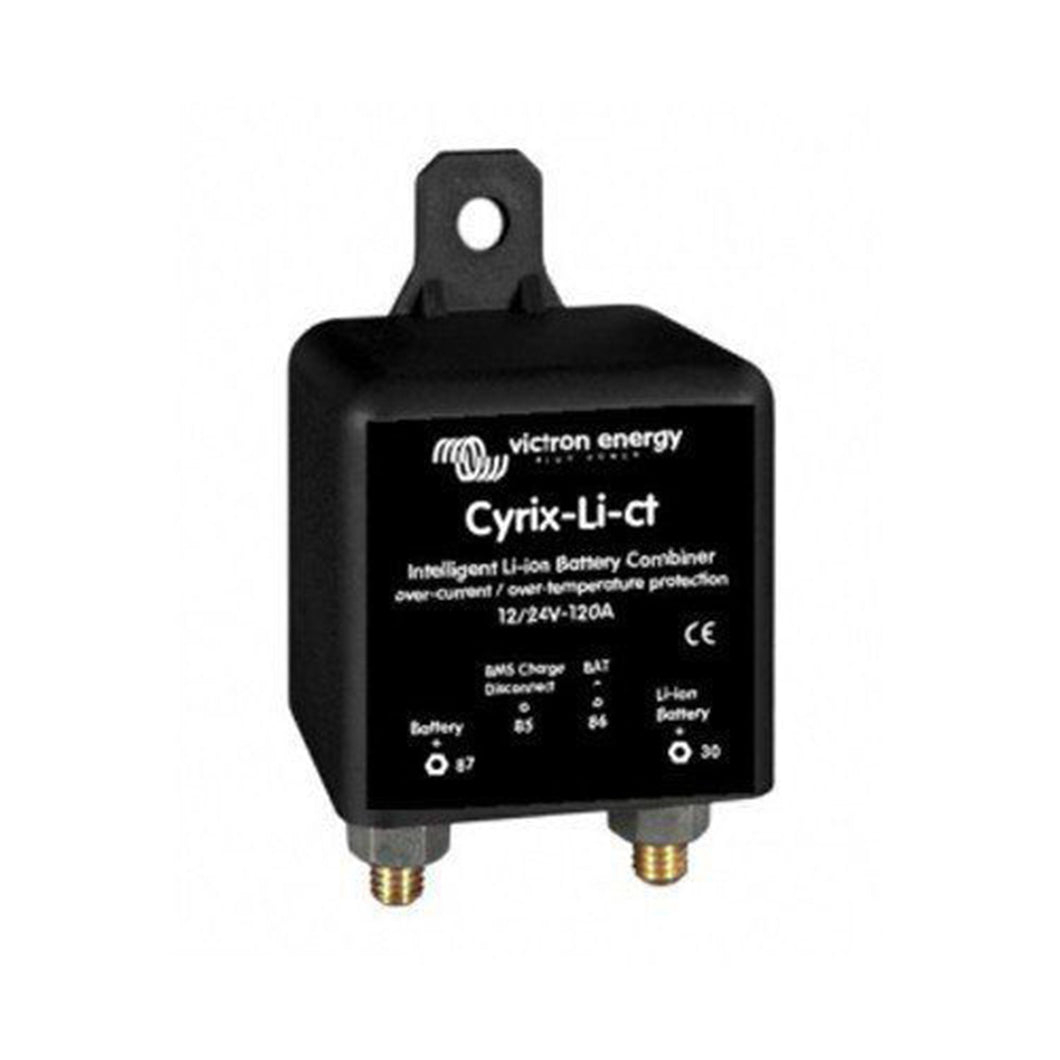 Cyrix-Li-ct 12/24V-120A intelligent Li-ion battery combiner