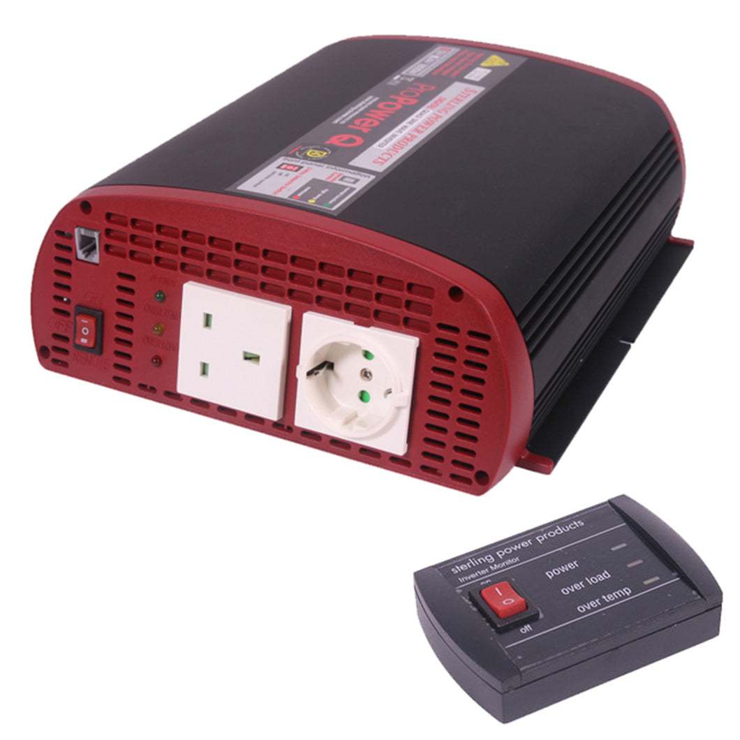 Sterling Power Inverter 12V - 230V 1800W inc RC