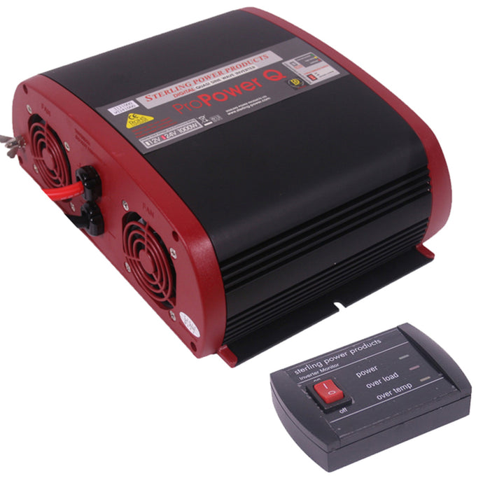Inverter 24V - 230V 1000W inc RC